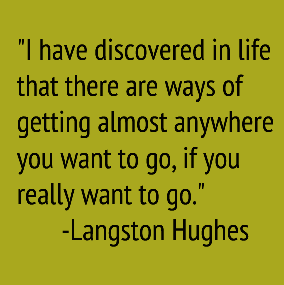 Langhston quote