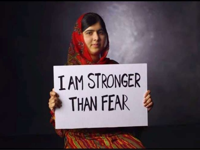 I am stronger than fear