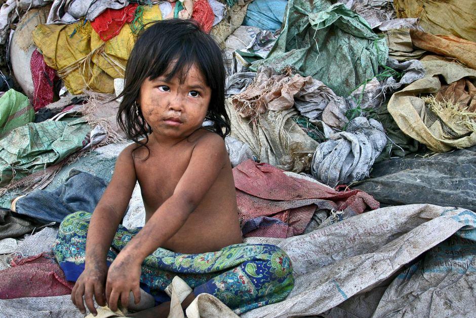 dumpsite child